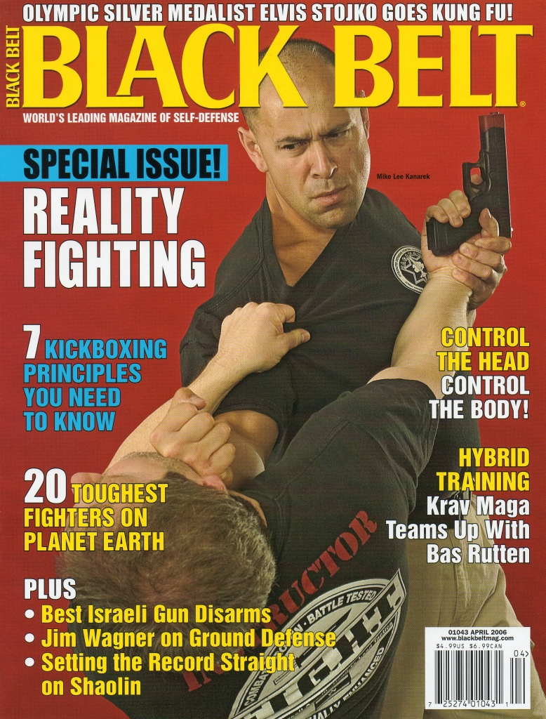 Black Belt Magazine April 2006